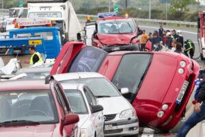 Accidentes de múltiples vehículos: ¿quién tiene la culpa?